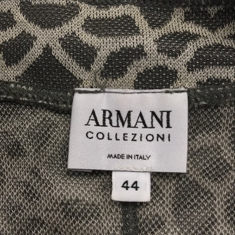 Armani Collezioni, Kavaj, Strl: 44 italiensk, Grå Grå Grå f3af72