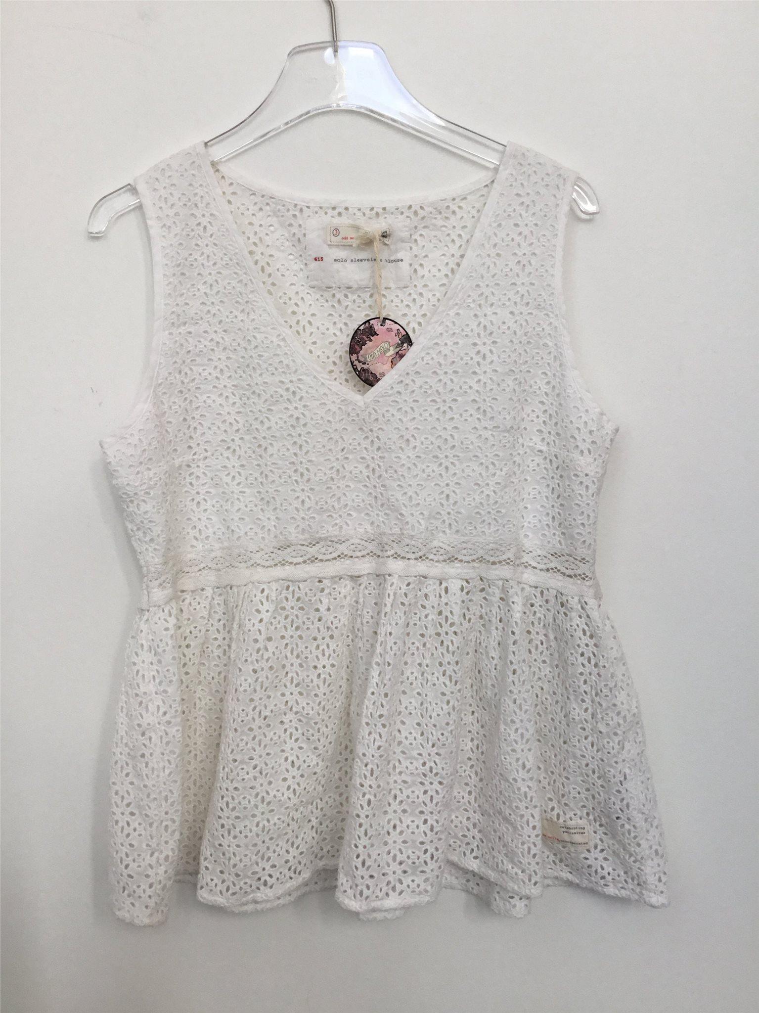 fe5f3fc0805ca4 Odd Molly 3 ny vit topp solo sleeveless blouse (343768569) ᐈ Köp på ...
