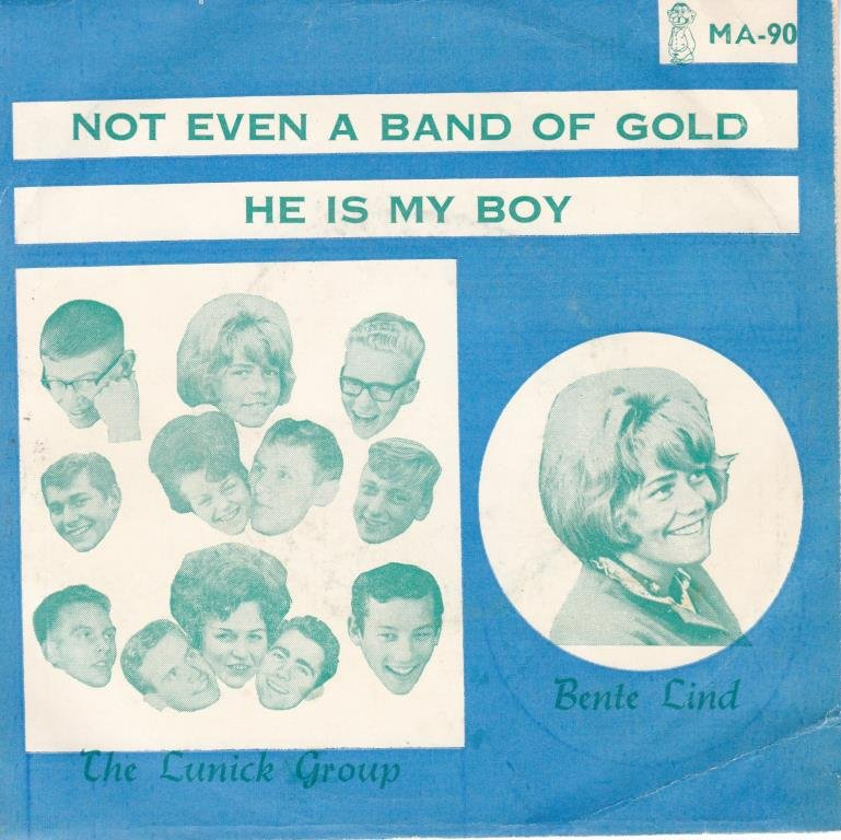 BENTE LIND-not even a band of gold NO.MANU 90  KILLER 2 SID.