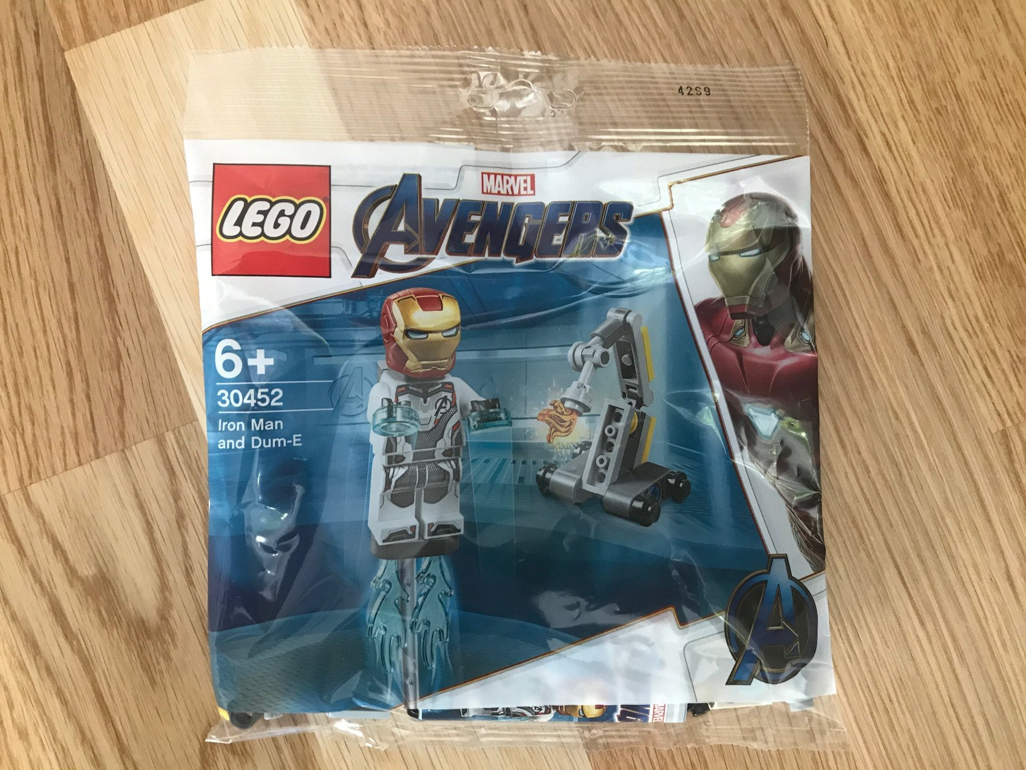 LEGO 30452 Iron Man and Dum-E Marvel Avengers - oöppnad polybag