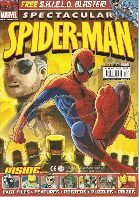 MARVEL SPECTACULAR SPIDER-MAN - NR 157 (ENGLISH)