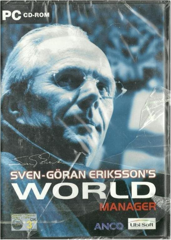 SVEN-GÖRAN ERIKSSON´S WORLD MANAGER( INPLASTAT PC SPEL)