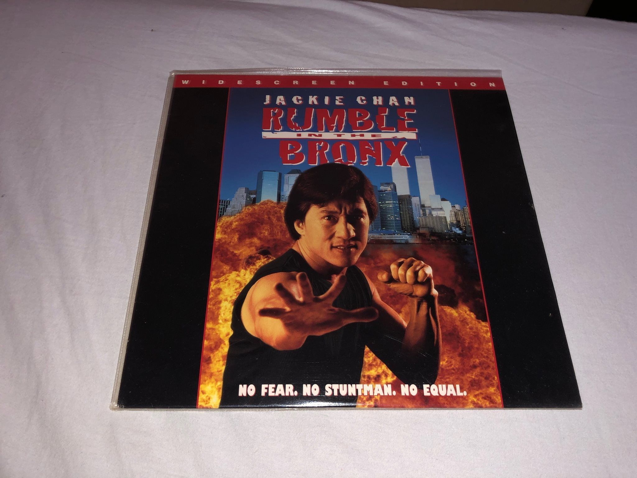 Rumble in the Bronx - Widescreen edition - 1st Laserdisc