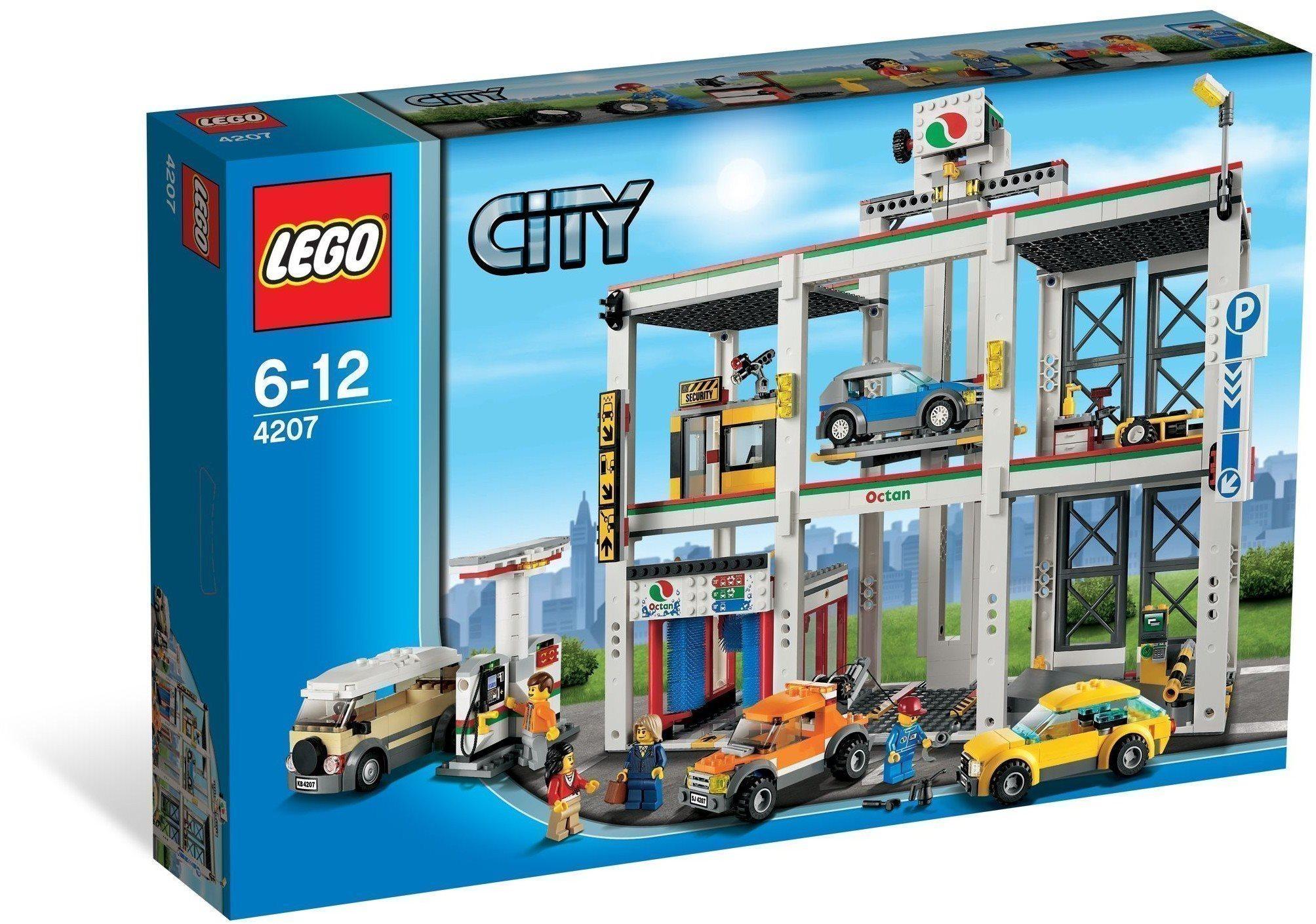 e63dc5e036af LEGO City 4207 City Garage, raritet från 2012 h.. (356175513) ᐈ Köp ...