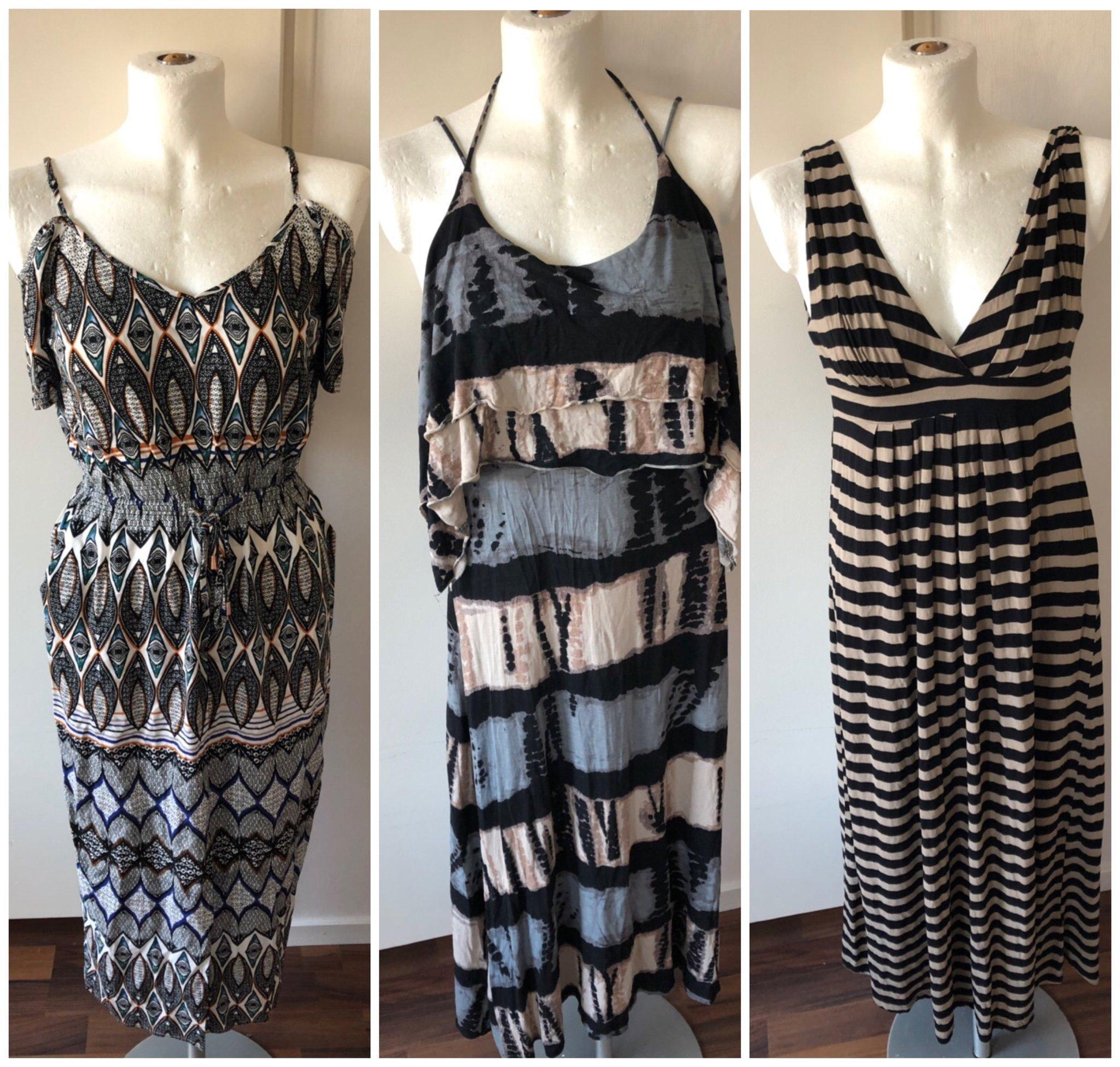 2f8c56f9d450 Fint klädpaket Klänningar s/xs Långklänning maxiklänning Lindex  sommarkläder ...