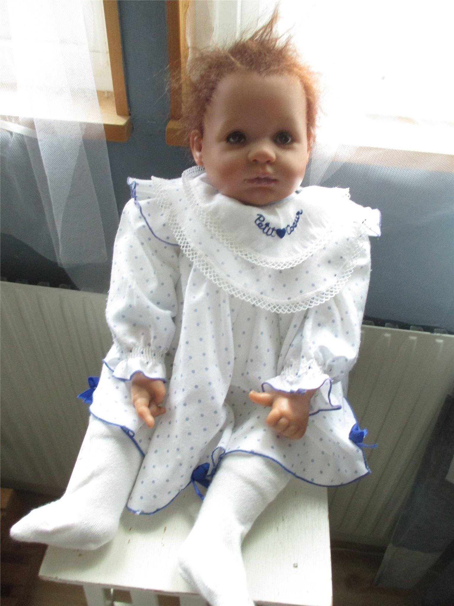 Underbart söt reborn baby Hilma Christina med certifikat från