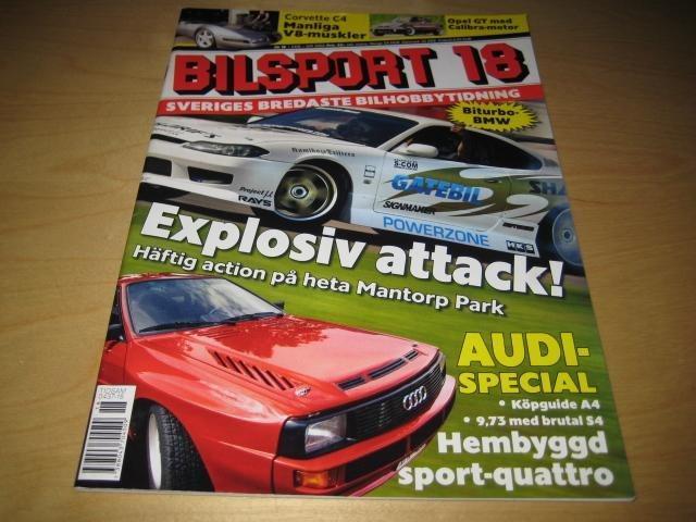 Kort om sport bilsport 1999 04 27