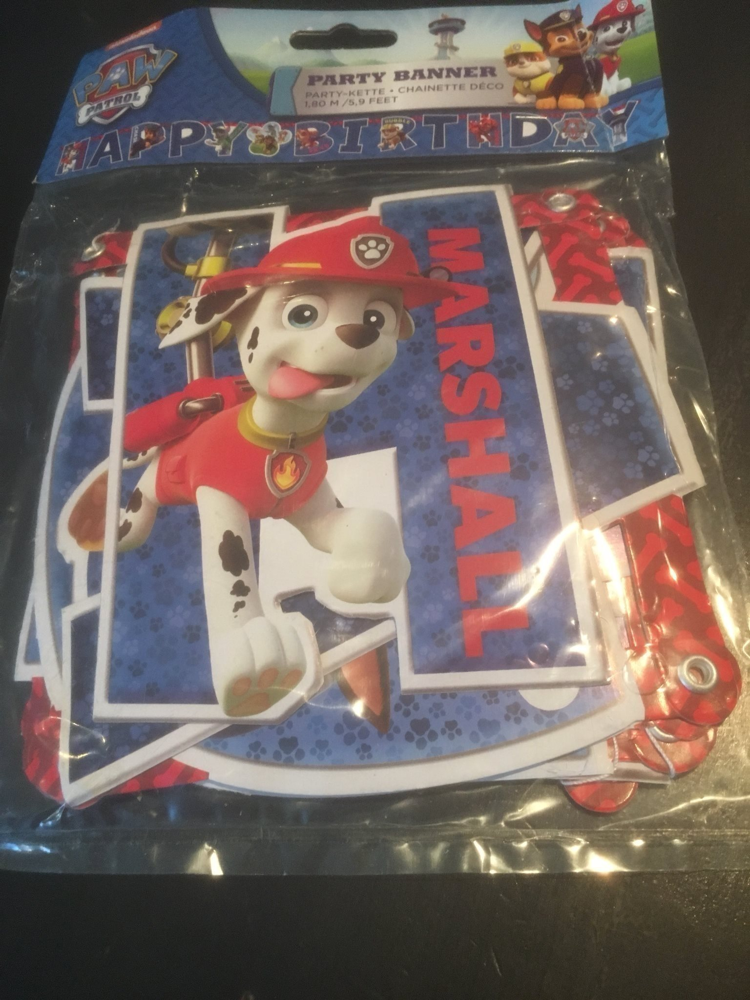 Paw Patrol happy Birthday ny