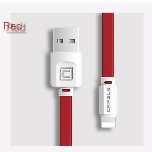 Kort original 0,5M laddare USB kabel för Apple iPhone 8 6 7 Plus X SE Lightning
