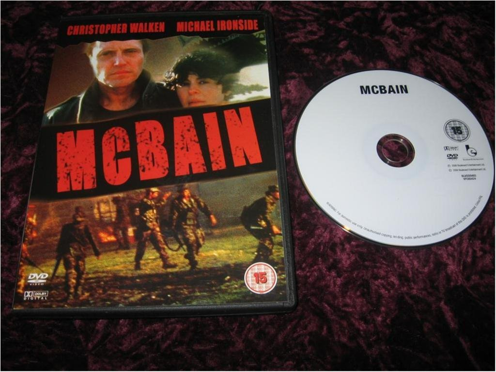MCBAIN (CHRISTOPHER WALKEN,MICHAEL IRONSIDE)DVD
