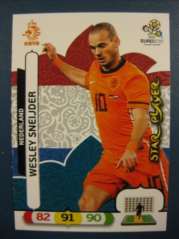 STAR PLAYER - WESLEY SNEIJDER - HOLLAND - UEFA EURO 2012 EM