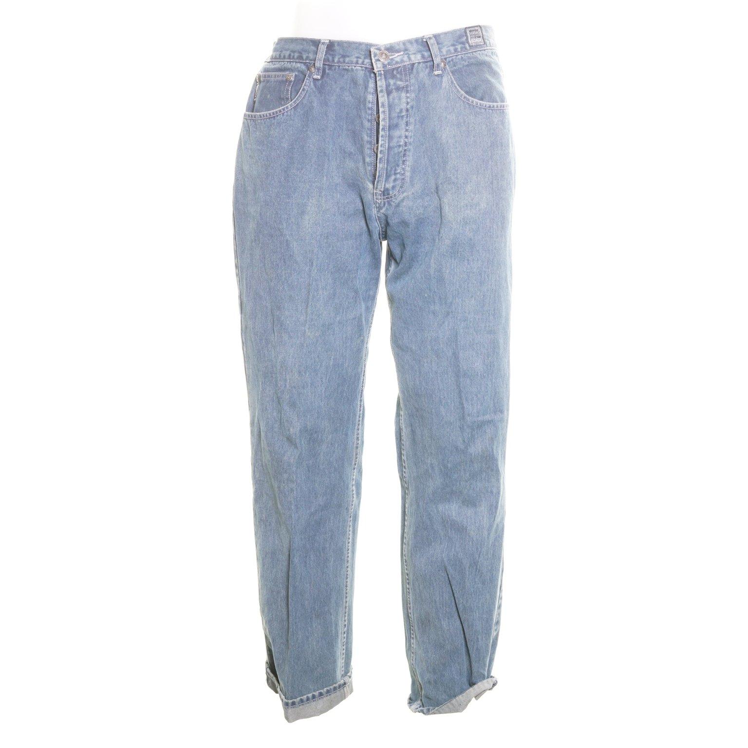 fc02d8250c5 Versace, Jeans, Strl: 38, Blå (354344402) ᐈ Sellpy på Tradera