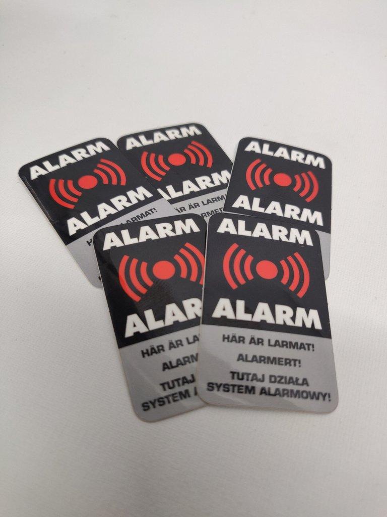 larmdekaler sector alarm