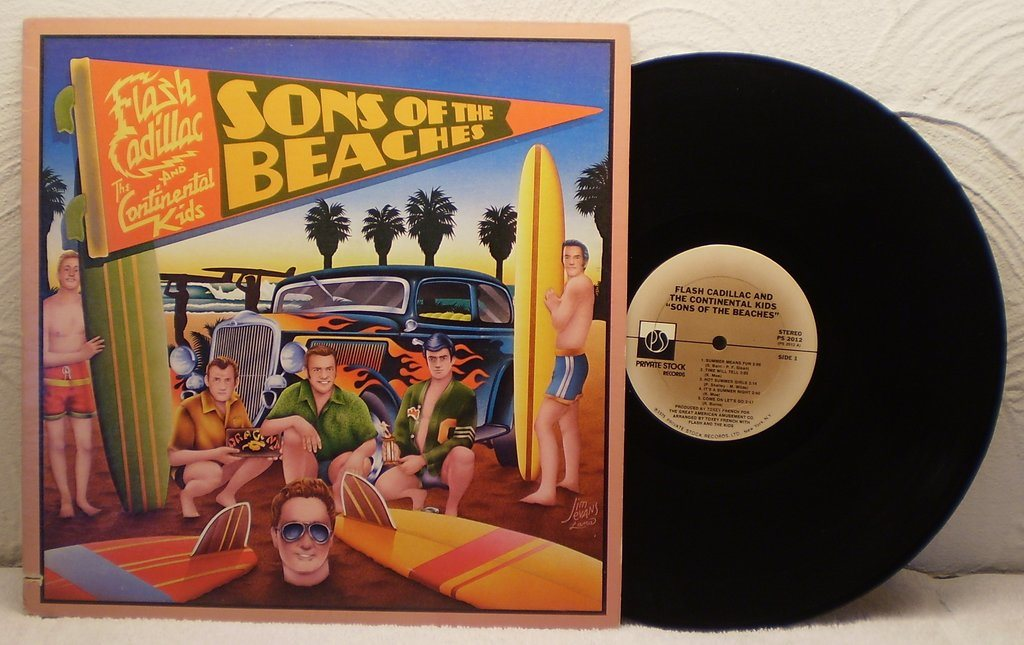 FLASH CADILLAC & THE CONTINENTAL KIDS - SON OF THE BEACHES