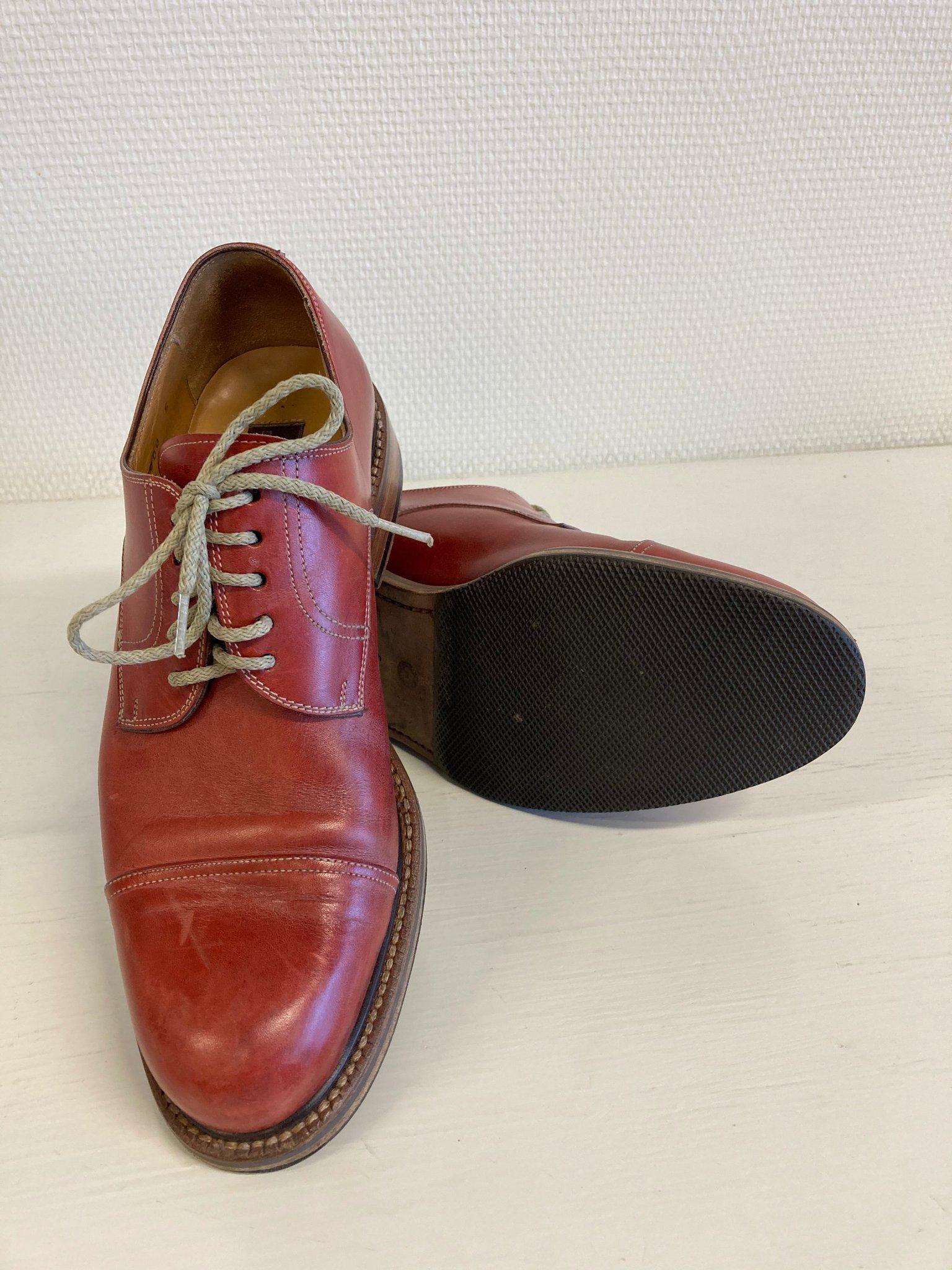 Handgjorda skor i skinn från Dieter Kuckelkorn, Tyskland