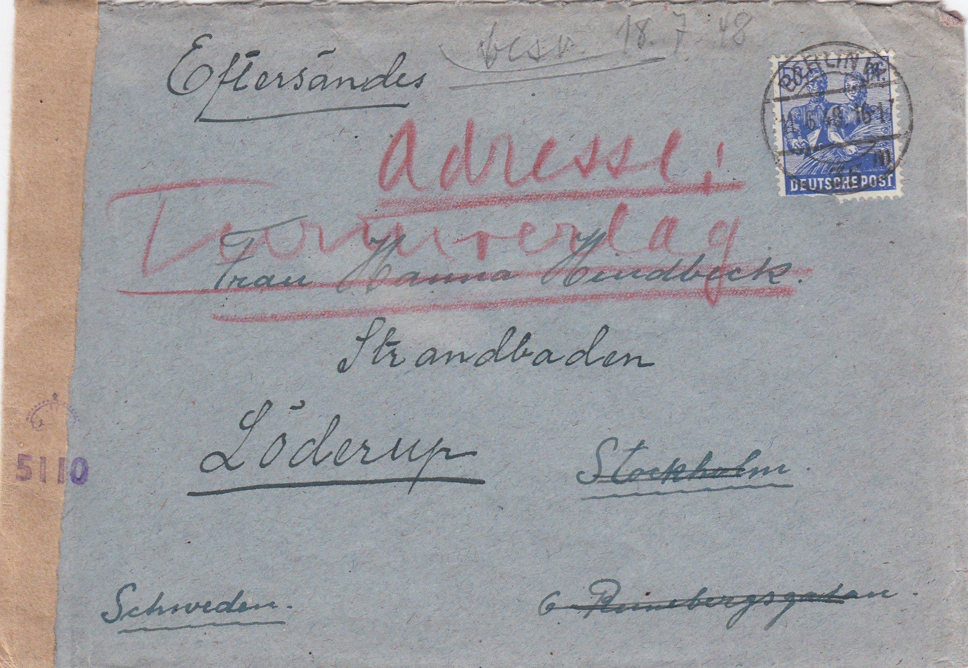 brev tyskland