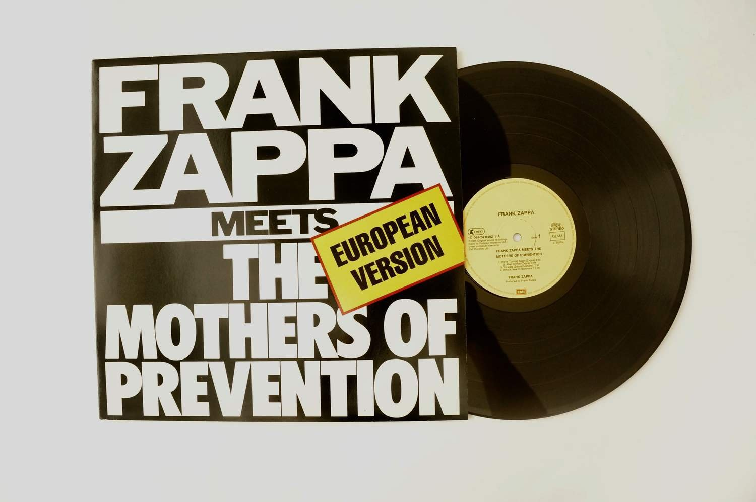 ** Frank Zappa ?– Meets The Mothers Of Prevention (European Version) **