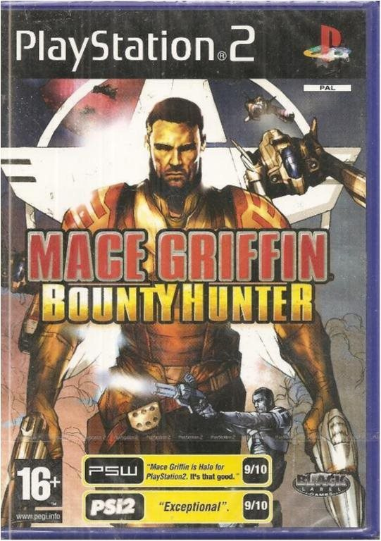 MACE GRIFFIN - BOUNTY HUNTER  ( NY & INPLASTAT PS 2 SPEL)
