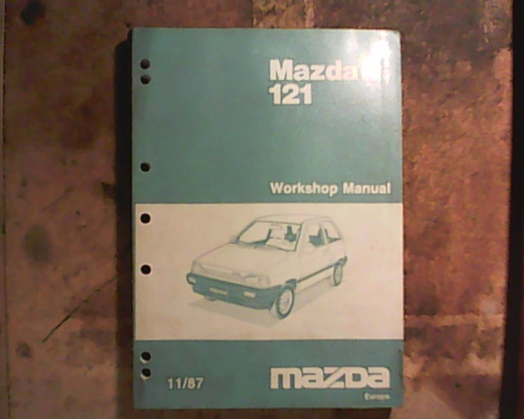 Mazda 121, 1988, 1988, 1988, verkstadshandbok 71063f