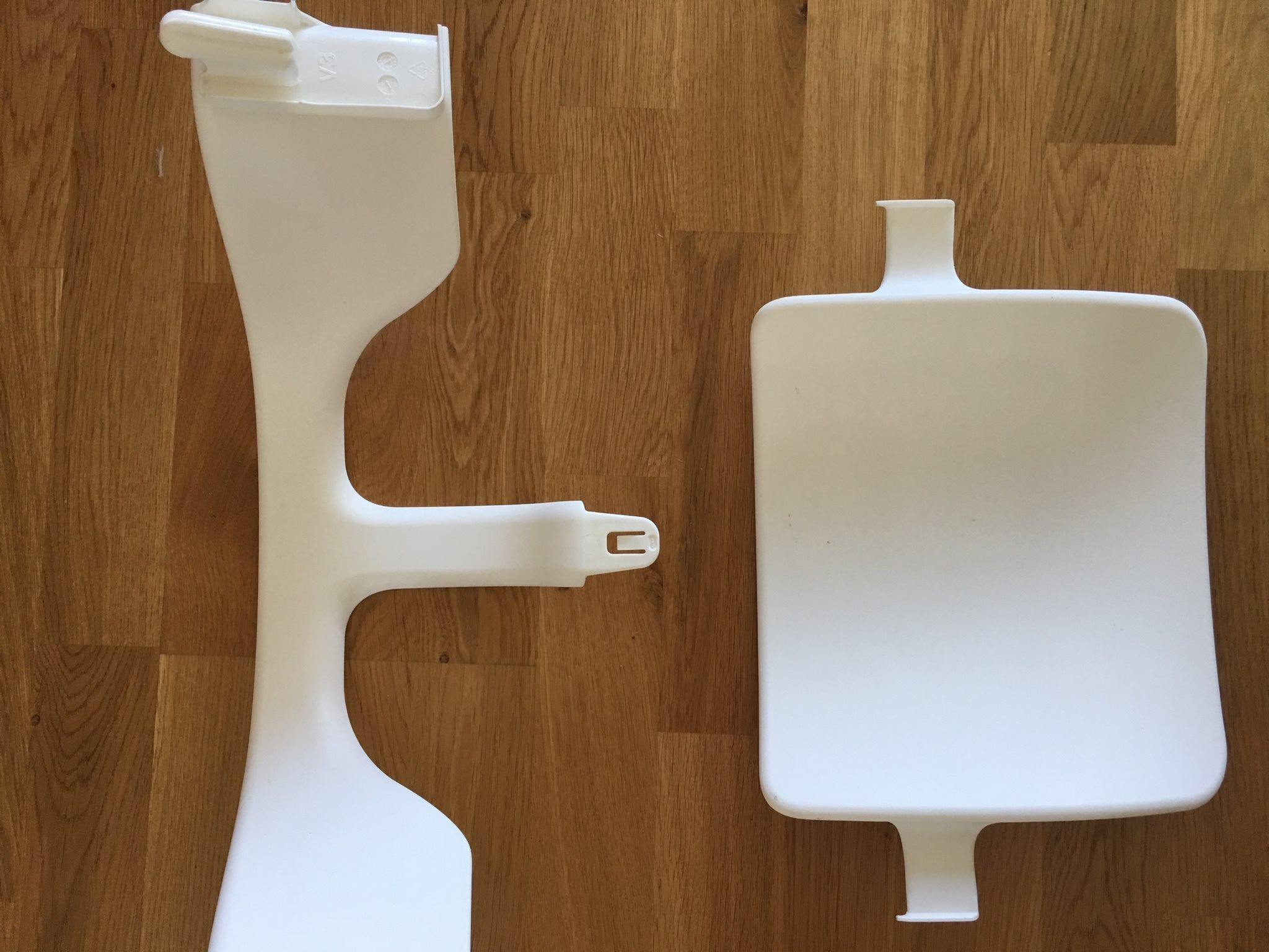 vit stokke baby set till tripp trapp stol! (310461041) ᐈ köp på