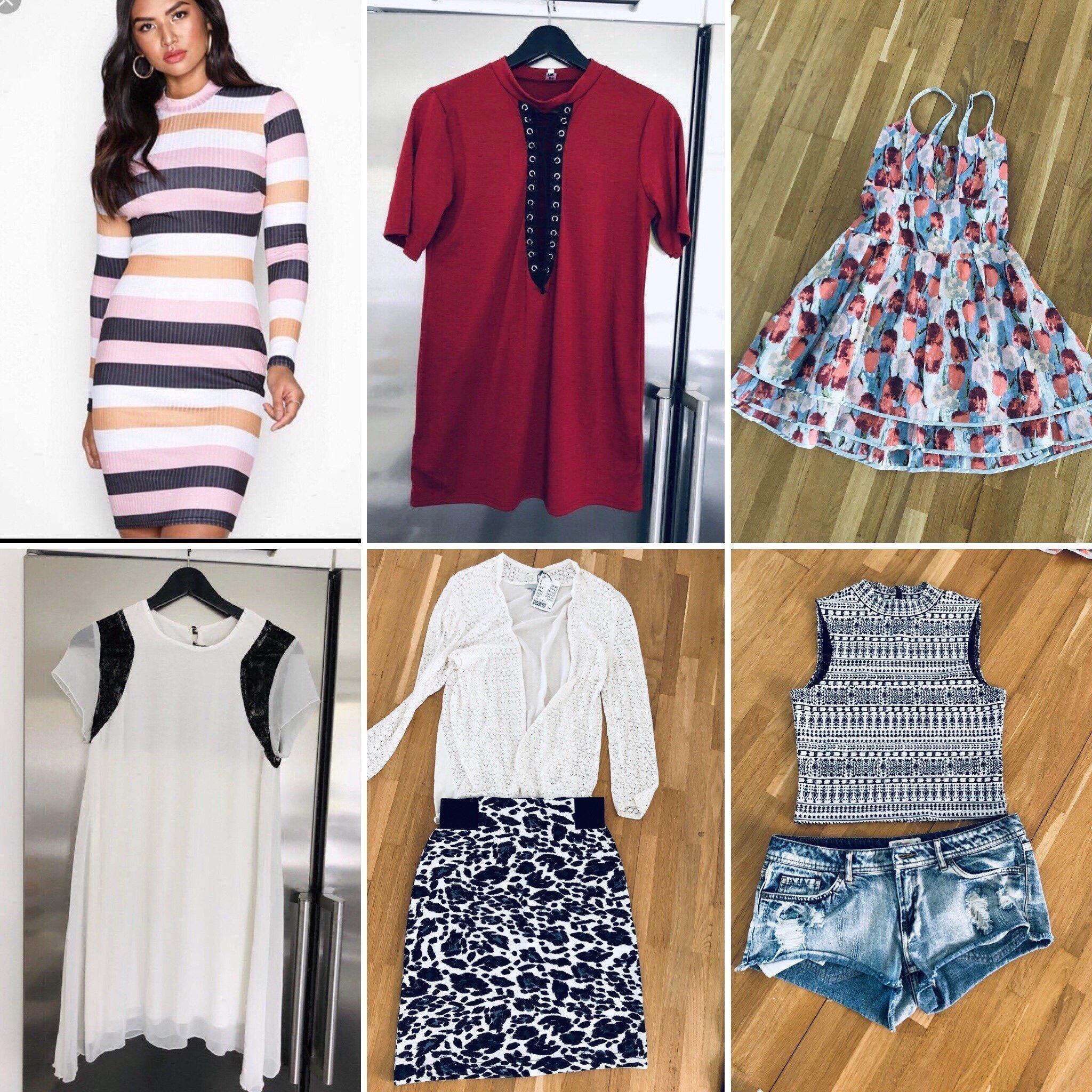 a7904449805e Nytt klädpaket st s/m fina märkes kläder (353832170) ᐈ Köp på Tradera