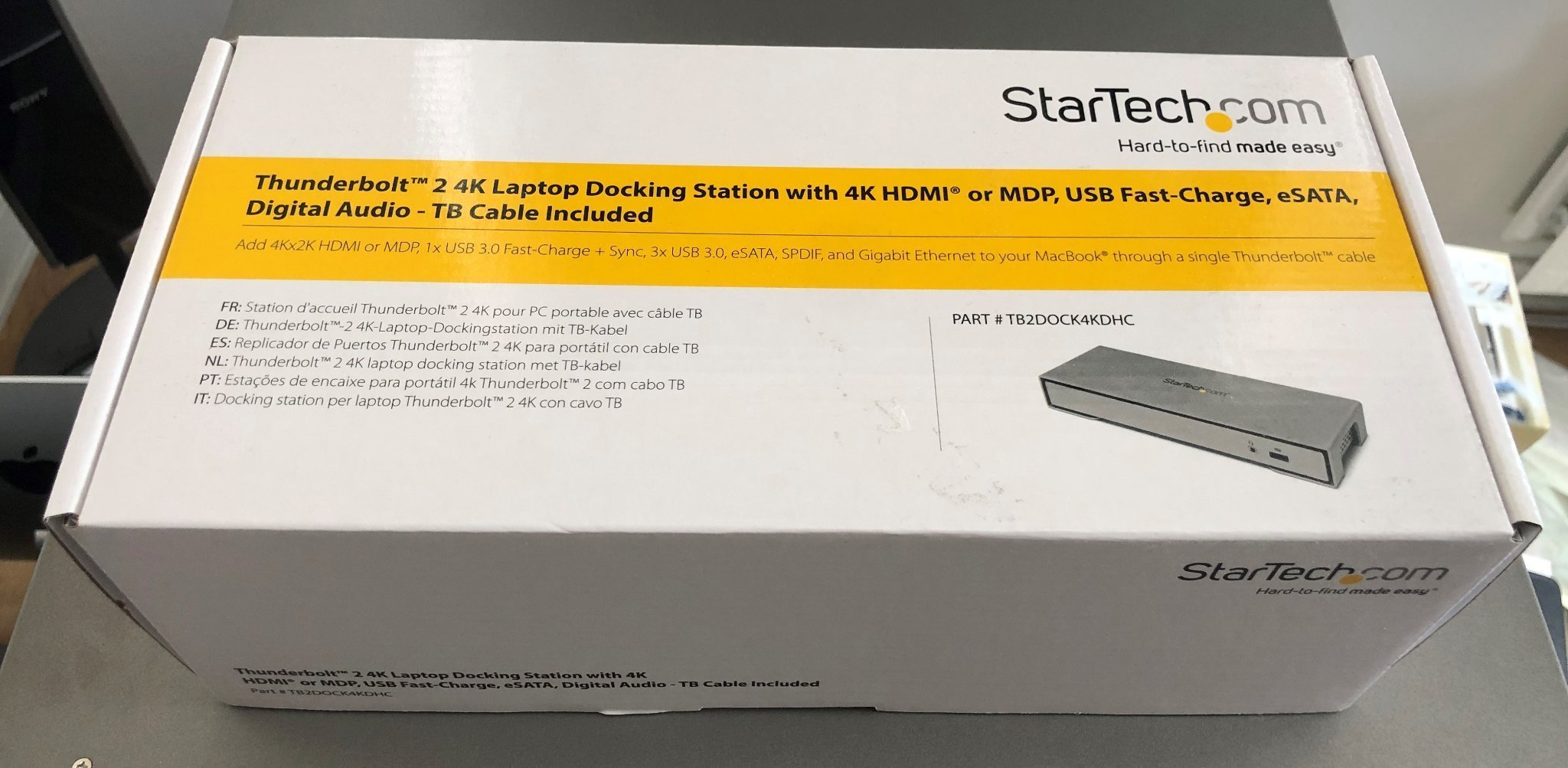 Try These Station D'accueil Dell Thunderbolt Dock Wd19tb {Mahindra