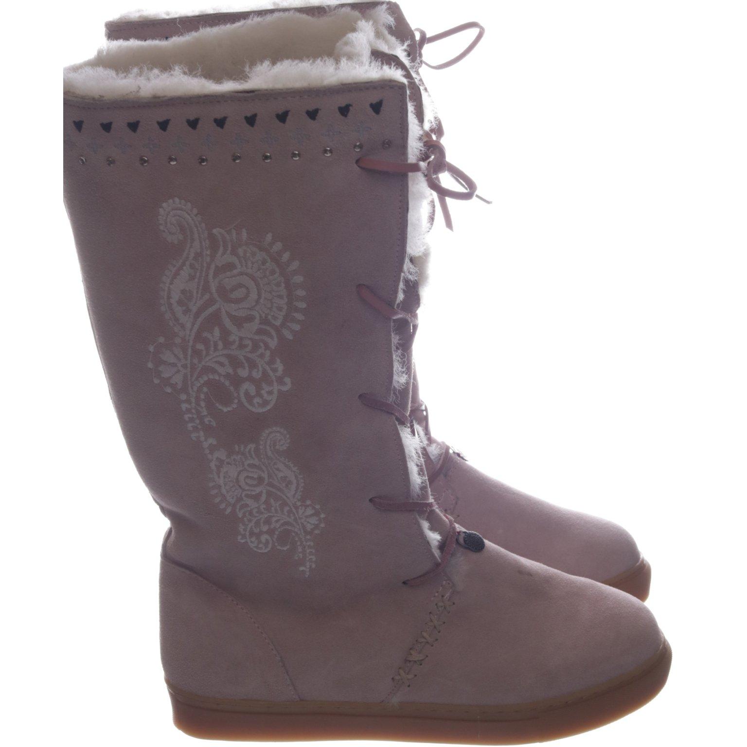 Odd Molly, Boots, Strl: 40, Rosa, Mocka (422993801) ᐈ