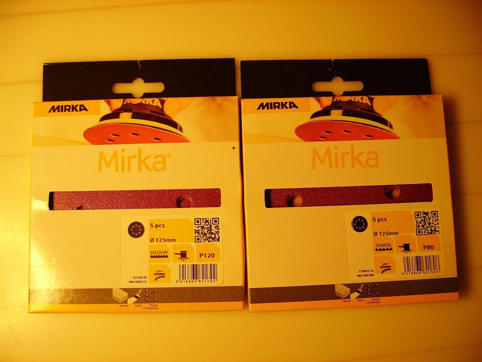Slippapper Mirka rondell (339298849) ᐈ Köp på Tradera 8f1da331e383d
