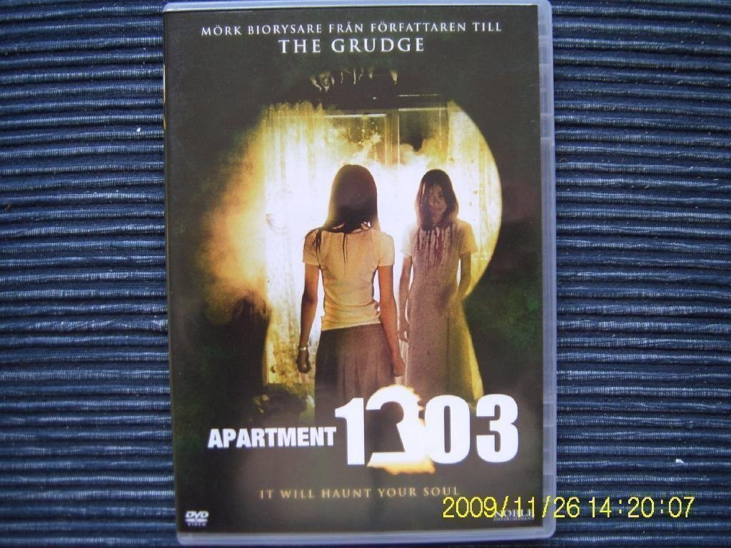 DVD - Apartment 1303 : it will haunt your soul