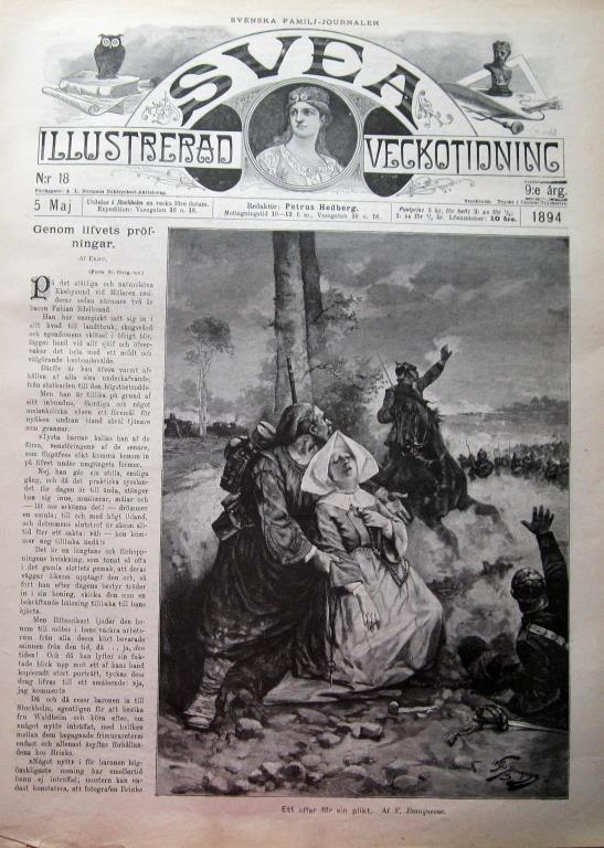 Svea 1894-18 Ål Om Om Om Ålens Fortplantning 0ebb14