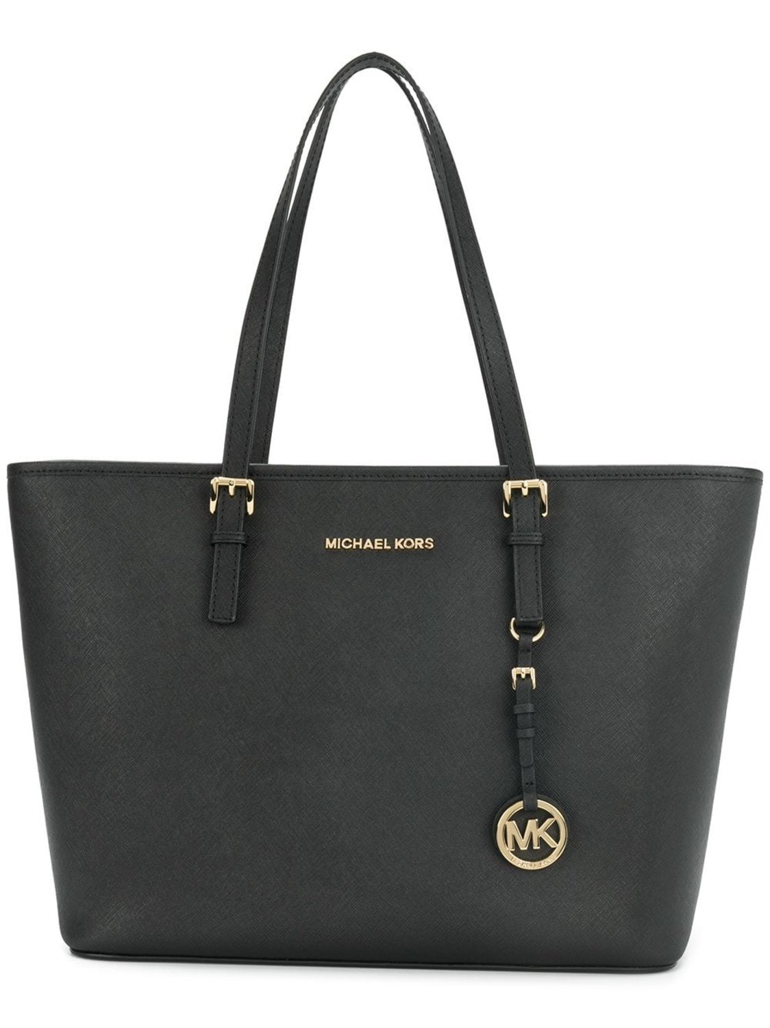 3c89ad537 Väska ÄKTA Michael Kors Jet Set Travel MD Svart.. (349152312) ᐈ Köp ...