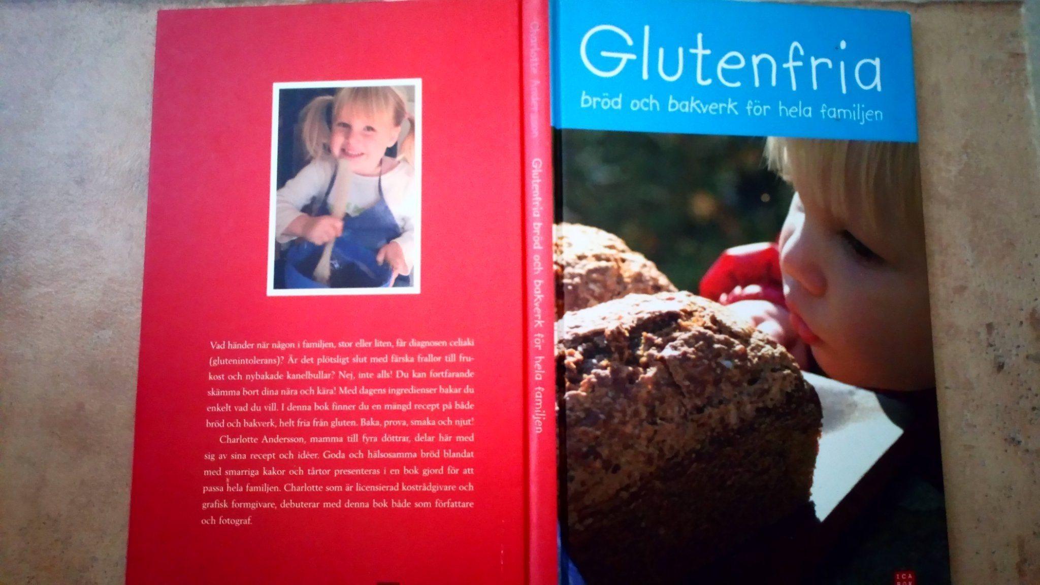 glutenfria bröd och bakverk för hela familjen