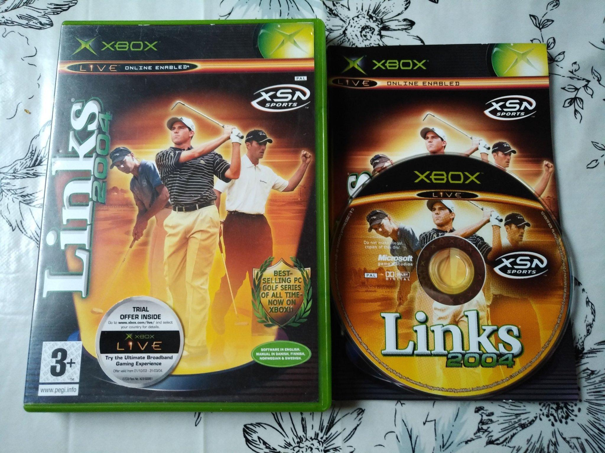 Links 2004 Komplett Microsoft Xbox (352361442) ᐈ Köp på Tradera