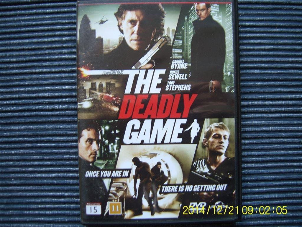 DVD - The deadly game