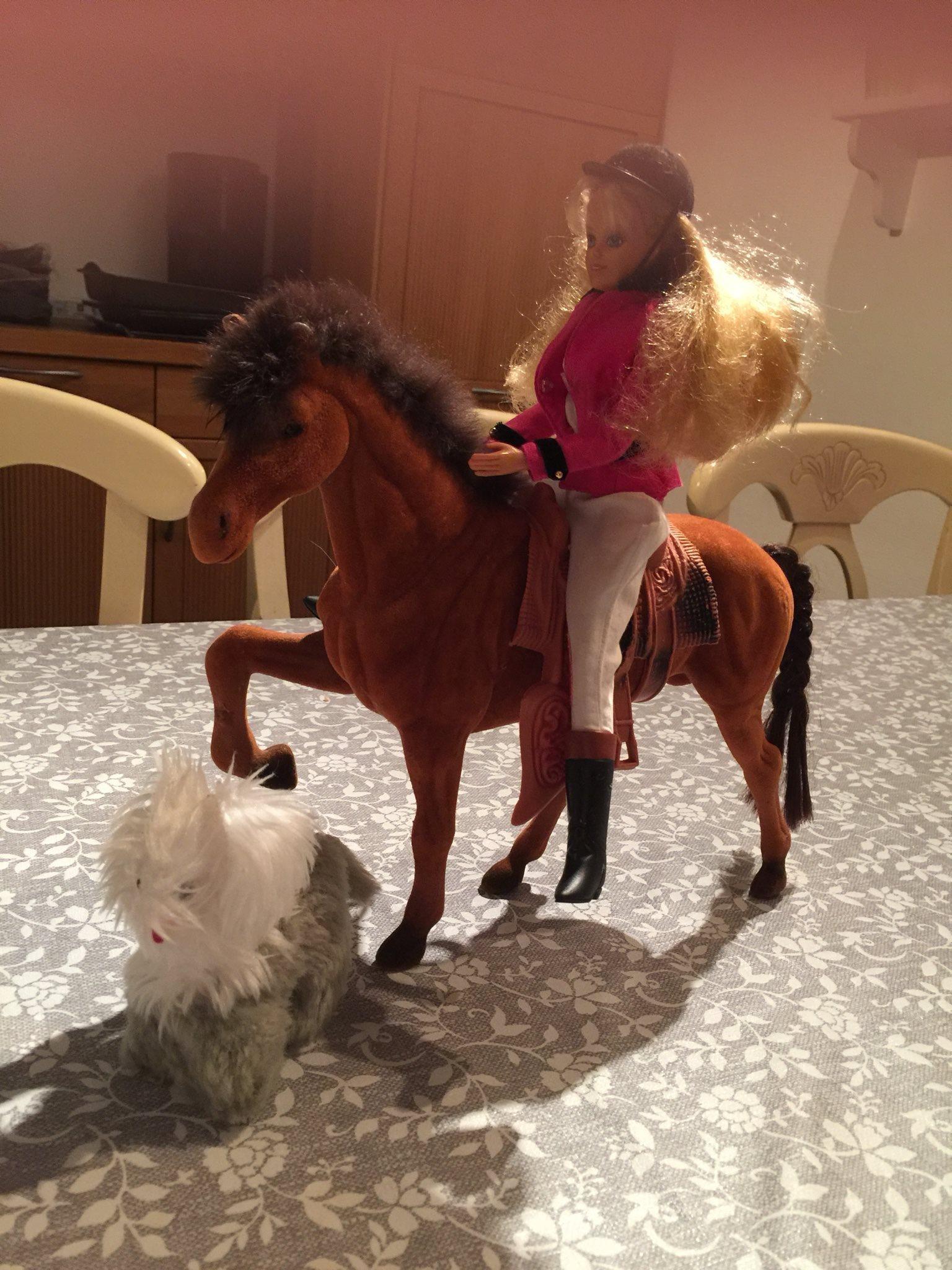 Gående häst leksak
