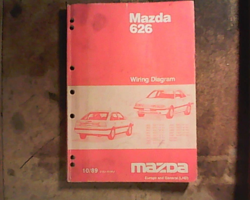 Mazda 626, 1989, 1989, 1989, verkstadshandbok elschema 3c904e