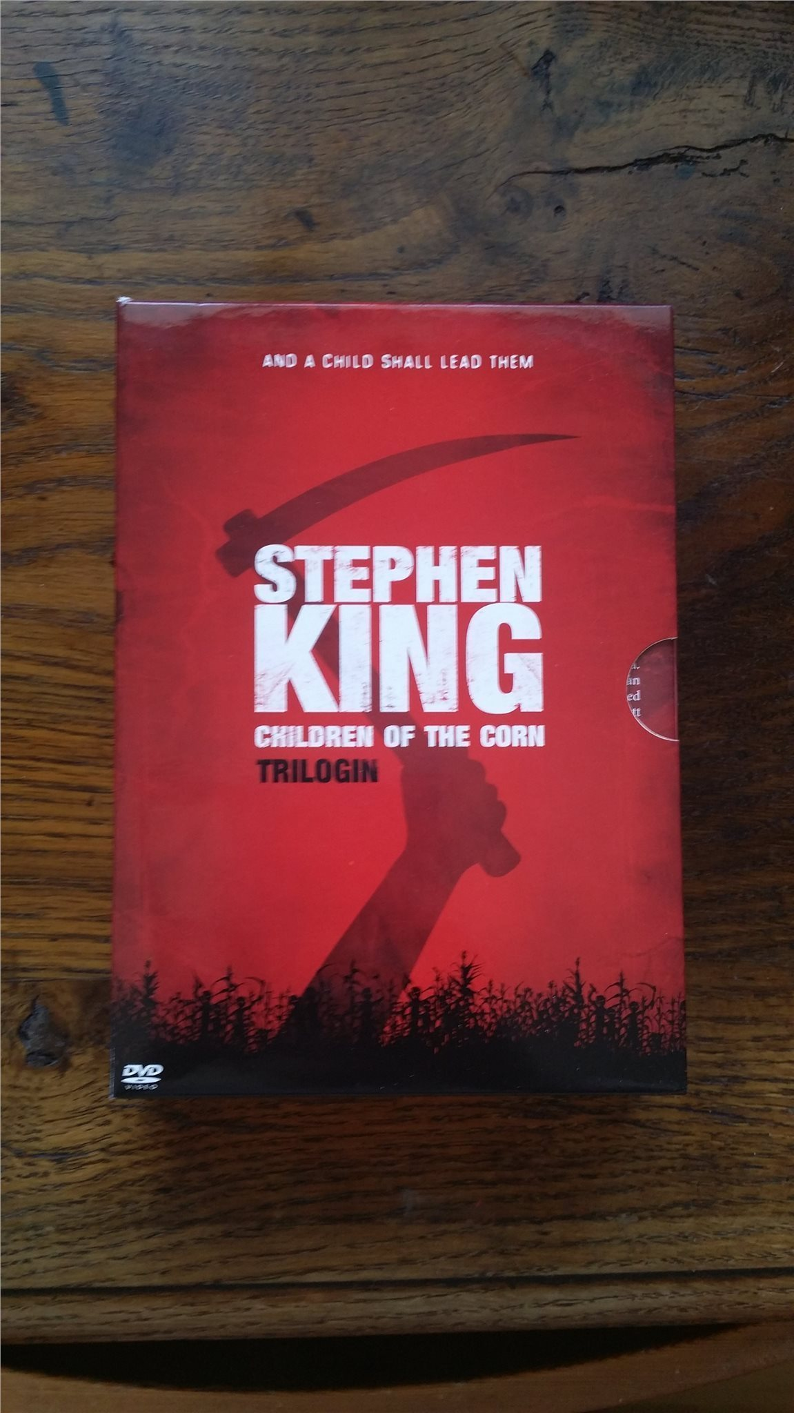 Box 3 DVD Stephen King Children of the Corn Trilogi