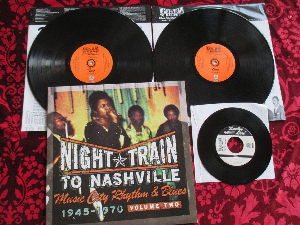 night train to nashville music city rhythm blues 1945 1970