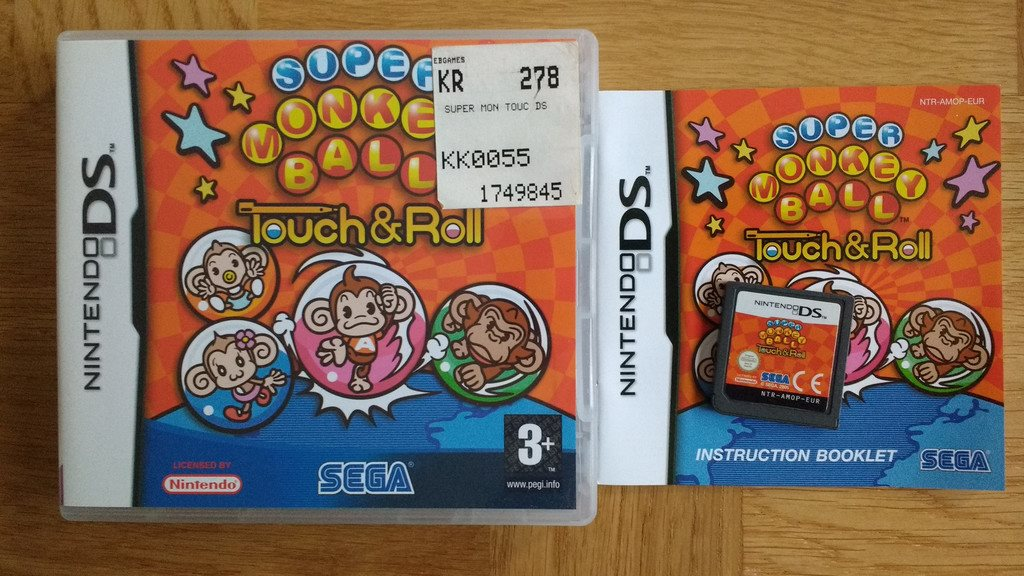 Nintendo DS: Super Monkey Ball: Touch and Roll