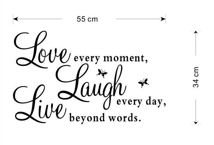 Väggdekor Minions : Väggdekor live love laugh väggdekoration på tradera