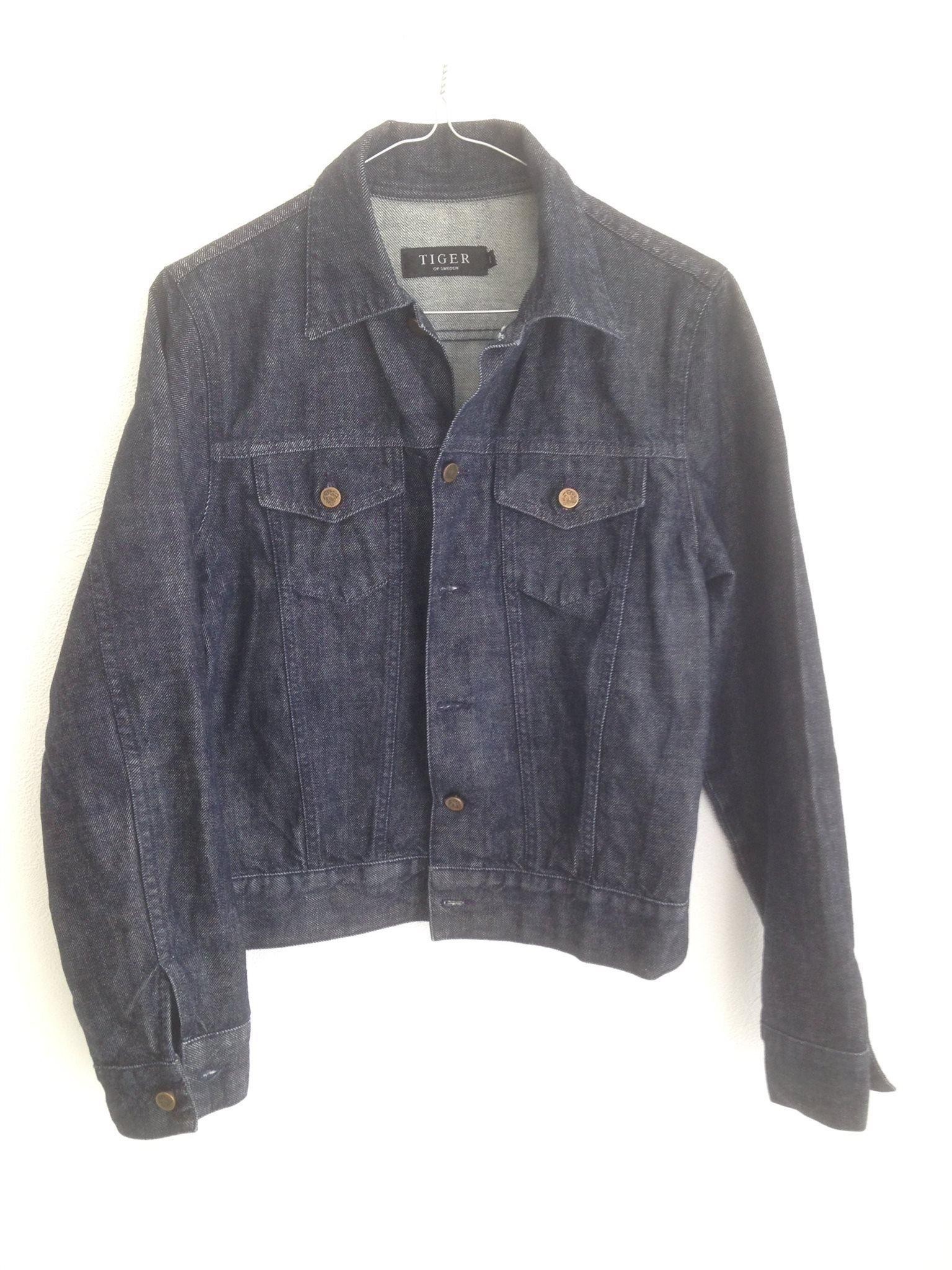 TIGER OF SWEDEN jeansjacka st M. (415673545) ᐈ Köp på Tradera