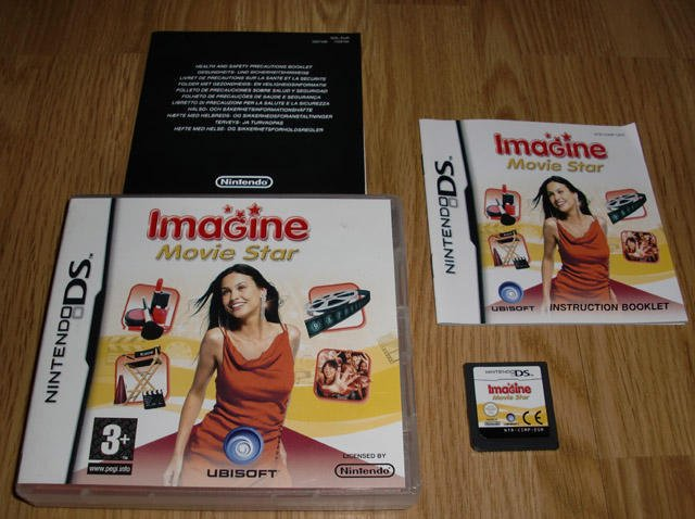DS: Imagine Movie Star