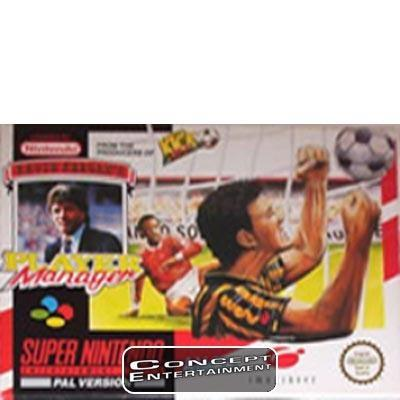 KEVIN KEEGAN'S PLAYER MANAGER till Super Nintendo SNES