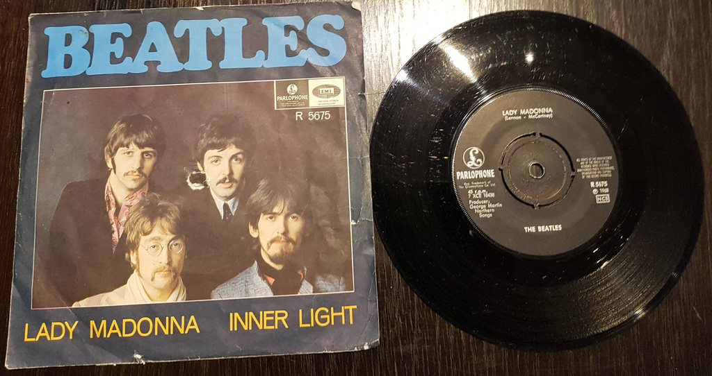 "7"" Singel *** BEATLES - Lady Madonna ***"