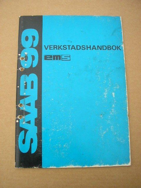 Verkstadshandbok SAAB 99 EMS