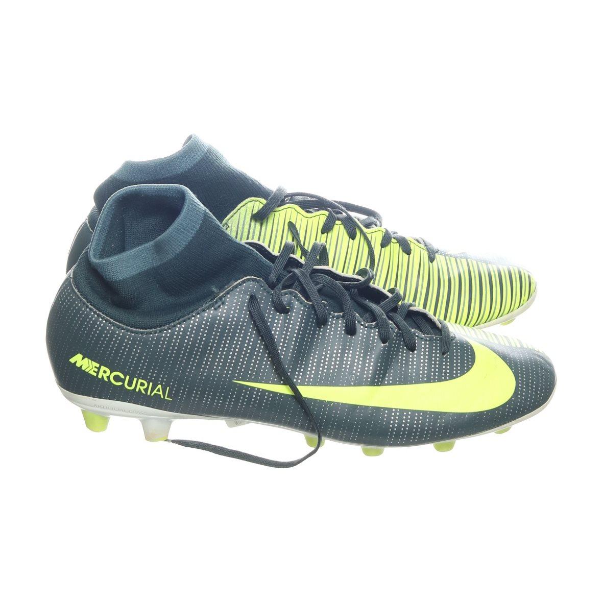 premium selection 4c2e9 29d11 Nike, Fotbollsskor konstgräs, Strl  42, CR7 Mercurial, Gul Grå