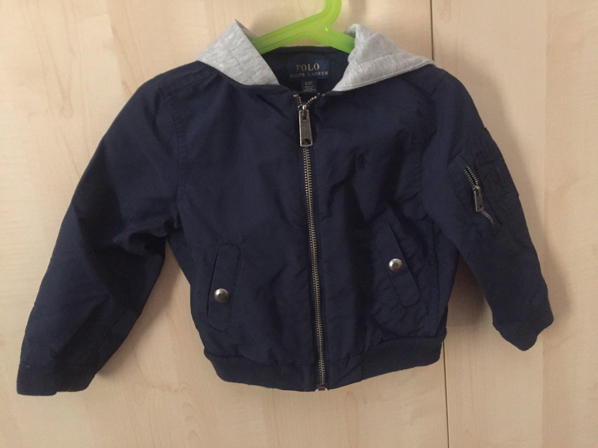 bästa kvalitet låga priser officiell webbplats Ralp Lauren mörkblå jacka ytterkläder höst barn.. (361107345) ᐈ ...
