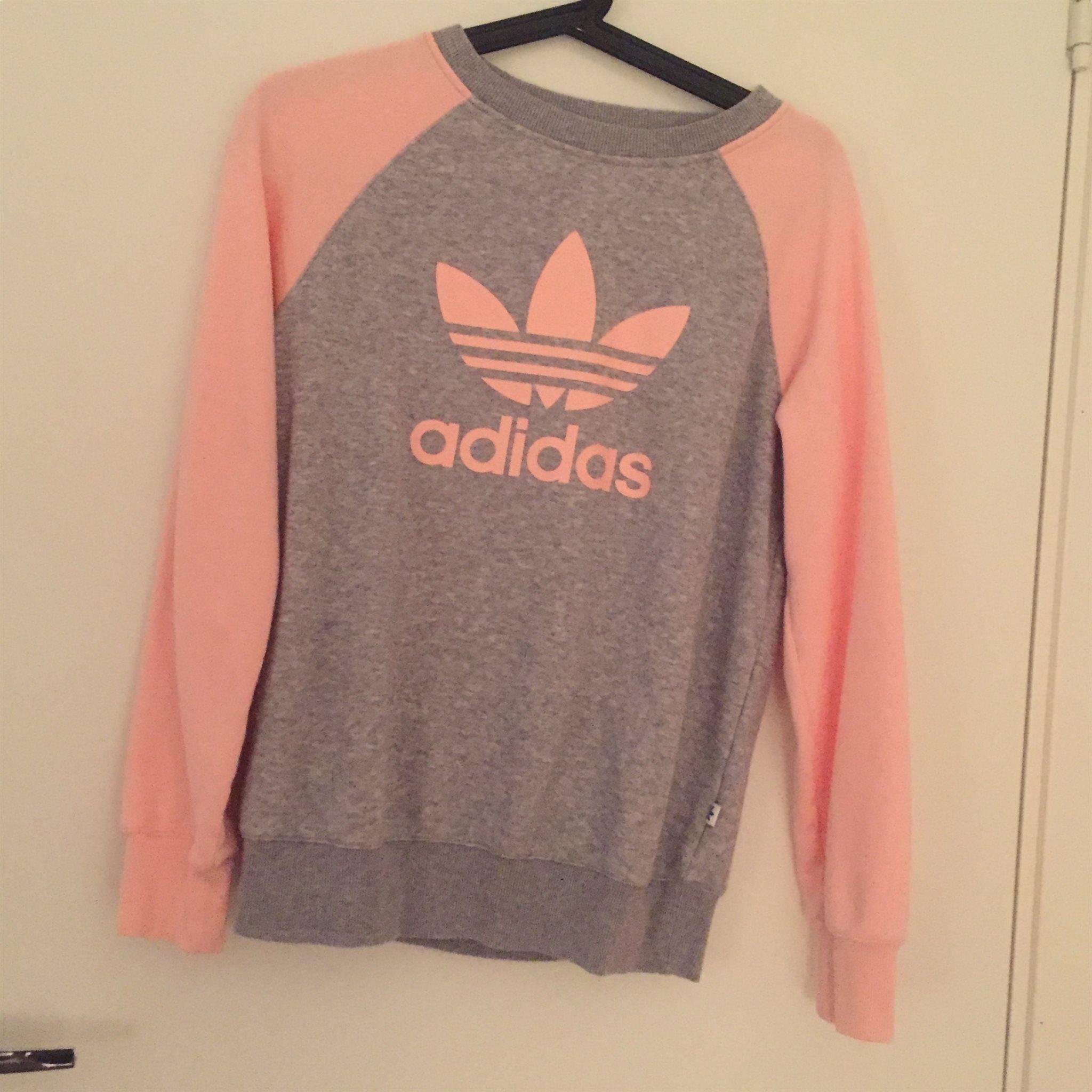 adidas rosa grå