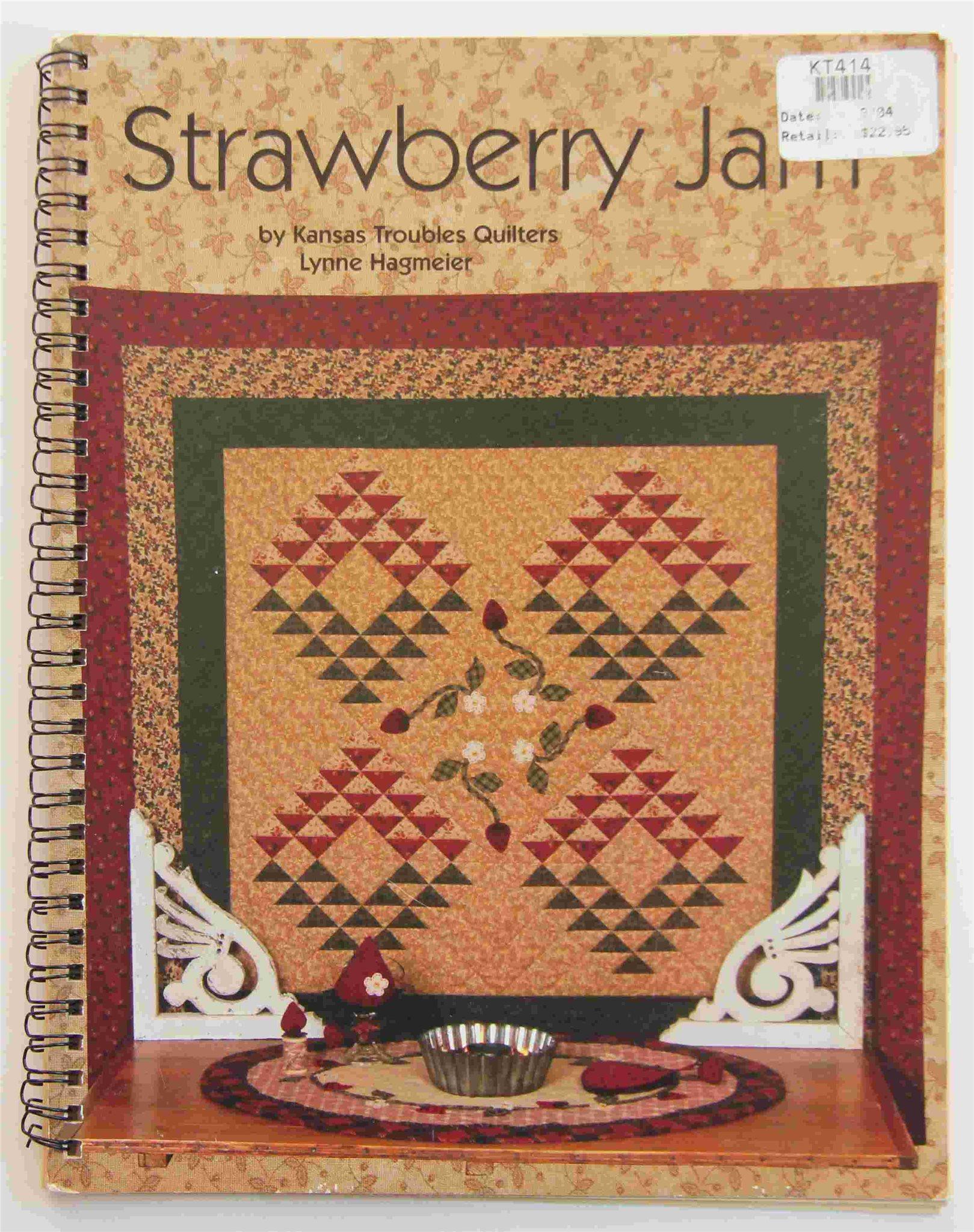 Strawberry Jam - (bok om quiltning)