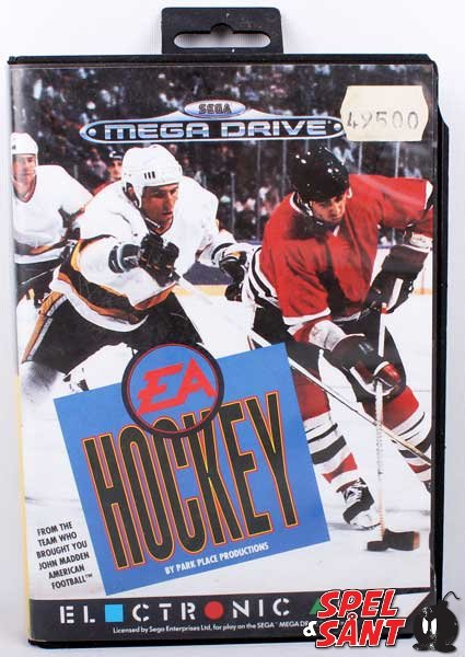 EA Hockey (Svensk Version & Utan Manual)